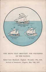 The Ships That Brought the Founders of the Nation