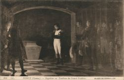 Napoleon at the tomb of Frederick the Great