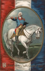 "George Washington on Horseback / ""he knew no glory but his country's good"
