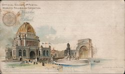 Official Souvenir Postal World's Columbian Exposition