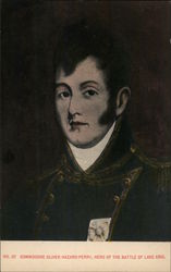 Commodore Oliver Hazard Perry, Hero of the Battle of Lake Erie Postcard