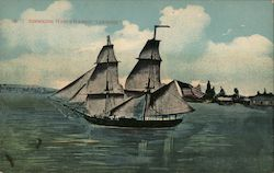 "Commodore Perry's flagship ""Lawrence"""