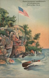 Perry's Lookout and Needle's Eye, Gibraltar, Put-in-Bay Ohio