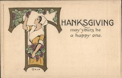 Thanksgiving may yours be a happy one