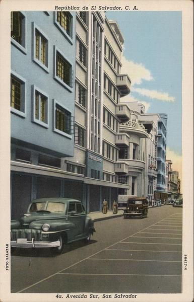 Avenida Sur San Salvador El Salvador Salazar Central America