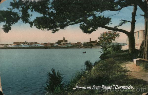 View of Town From Paget Hamilton Bermuda