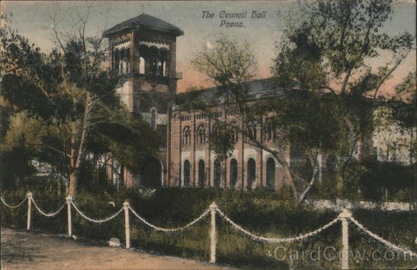 The Council Hall Poona India