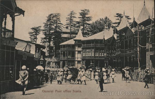 General Post office Simla Shimla India