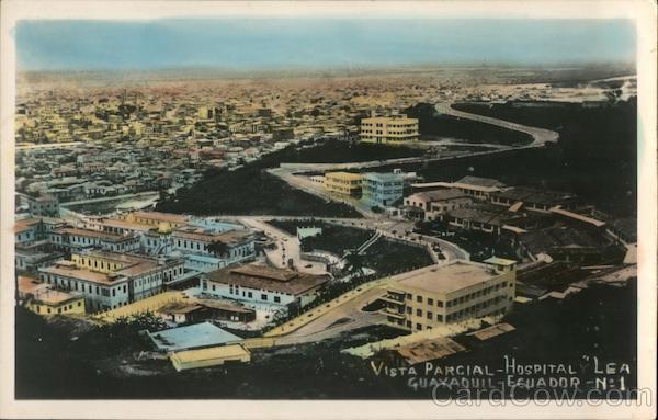 Vista parcial - Hospital. Guayaquil - Ecuador South America