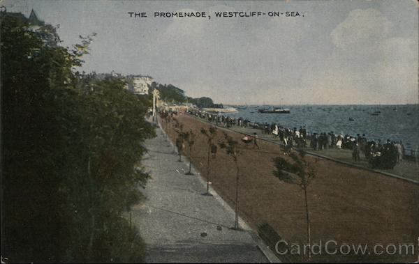 The Promenade, Chalkwell Beach, Thames Estuary Westcliff-on-Sea England