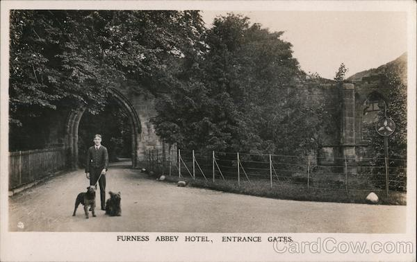 Furness Abbey Hotel, Entrance Gates Barrow-in-Furness England
