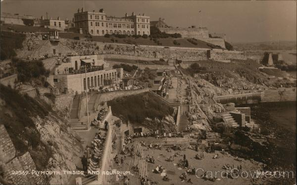 Tinside Lido and Aquarium Plymouth England Devon