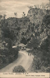 Lucas Rocks, Jenolan Caves, New South Wales Postcard