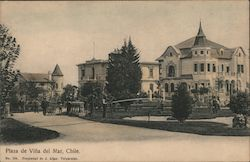 Plaza de Vina del Mar, Chile Postcard