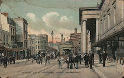 George Street and Theatre Royal, Devonshire Postcard