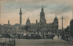 Glasgow Municipal Buildings Postcard