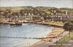 Rothesay from West Postcard
