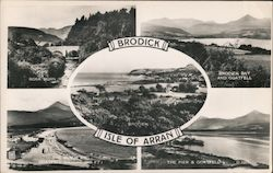 Brodick, Isle of Arran Postcard