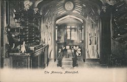 The Armoury at Abbotsford, Sir Walter Scott Postcard