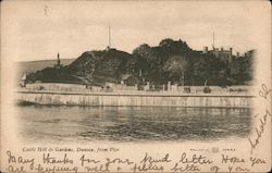 Castle Hill & Gardens, Dunoon, from Pier Postcard