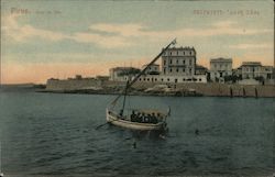 Bay of Zea Postcard