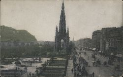 Scott's Monument Postcard