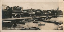 Port Said - View on the Quay Sultan Hussein