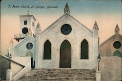 St. Peter's Church, St. Georges, Bermuda.