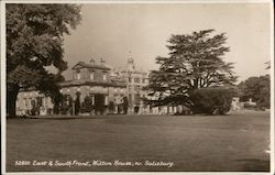East & South front, Wilton House, Salisbury Postcard