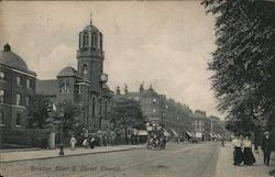 Brixton Road & Christ Church Postcard