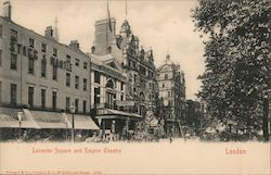 Leicester Square and Empire Theatre