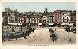 St. Augustine's Parade Postcard