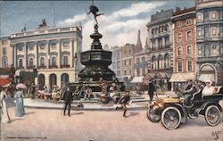 London. Piccadilly Circus Postcard