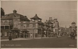 The pavilion. Dunoon Postcard