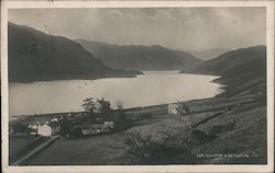 Thirlmere Reservoir and Wythburn Church Postcard