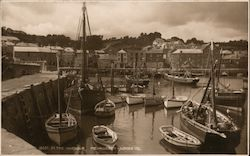 Fishing Boats in the Harbor, Cornwall