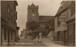 Parish Church Of St Leonard Postcard