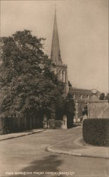 Wimbledon Parish Church Postcard