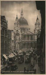 St. Paul's and Ludgate Hill