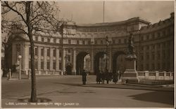 London. The Admiralty Arch