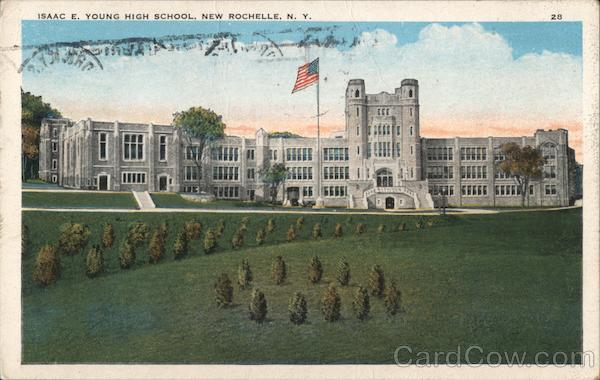Isaac E. Young High School New Rochelle New York