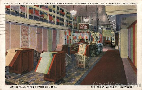 Empire Wall Paper & Paint Co. Inc. Syracuse New York