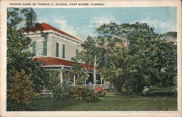 Winter Home of Thomas A. Edison Fort Myers Florida