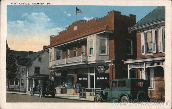 Post Office Palmyra Pennsylvania