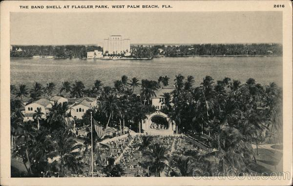 Band Shell at Flagler Park West Palm Beach Florida