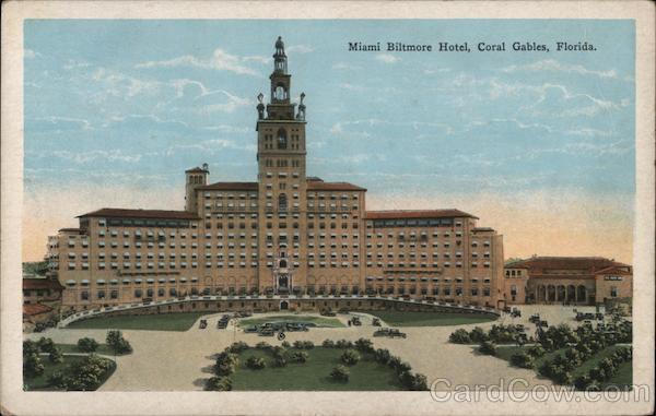 Miami Biltmore Hotel Coral Gables Florida