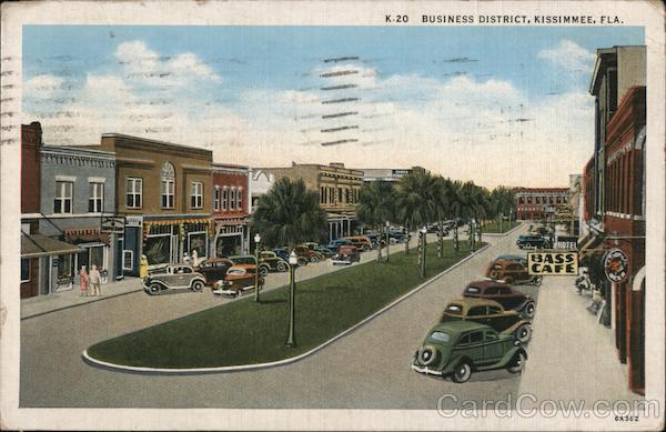 Business District Kissimmee Florida