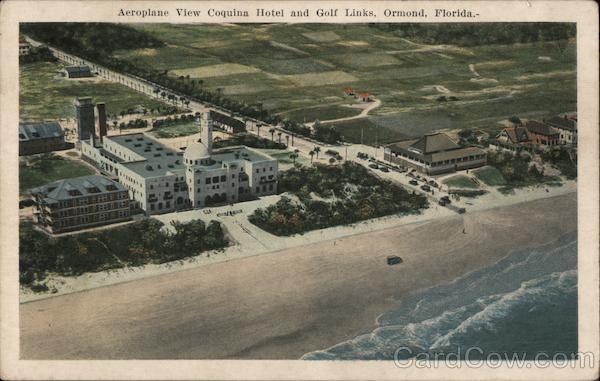 Aeroplane View Coquina Hotel and Golf Links Ormond Florida