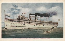 "Steamship ""Theodore Roosevelt"", Chicago and South Haven"