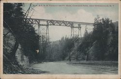 B.R. & P.R.R. Viaduct 180 Ft. high, Cascade Park